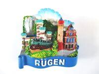 Rügen Premium Souvenir Poly Magnet,Germany Deutschland,Neu