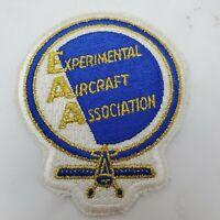 EAA EXPERIMENTAL AIRCRAFT ASSOCIATION  Patch