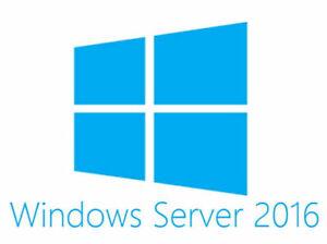 Microsoft Windows Server 2016 Standard x64bit 16 Core OEM DVD + Key - P73-07113