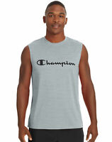 Champion Muscle Tee Mens Double Dry Mesh Texture Double Dry T-Shirt FreshIQ Gym