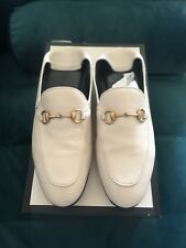 Gucci Brixton Loafer Slipper Weiß Off White Creme 40 Princetown Mokassins 41