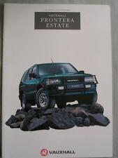 Vauxhall Frontera Estate brochure 1994 Ed 1