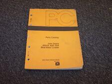John Deere 24A Skid Steer Loader Original Parts Catalog Manual Book Pc1577