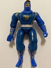1995 Bandai Mighty Morphin Power Rangers Movie Blue Ninja Ranger Figure