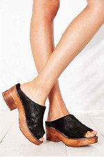 New Urban Outfitters Ecote Pony Hair Platform Mule Size 8 MSRP: $89