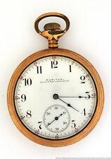Running Elgin Puritan Mens Pocket Watch