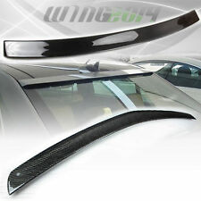 CARBON FIBER Mercedes BENZ W212 SEDAN OE REAR ROOF + A TRUNK SPOILER E350 E550