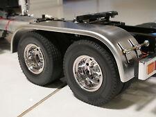 Aluminum Rear fender Cover Tamiya 1/14 Semi King Knight Hauler Scania Trailer