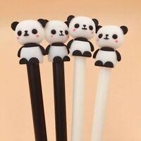 2 Pcs Panda Gel Stift Schwarz Tinte Schreibwaren Schule & Büro Schreiben Angebot