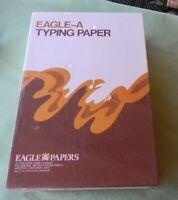 EAGLE-A TYPING PAPER TROJAN BOND 500 SHEETS 8 1/2 X 13-11.8 25% COTTON F520C