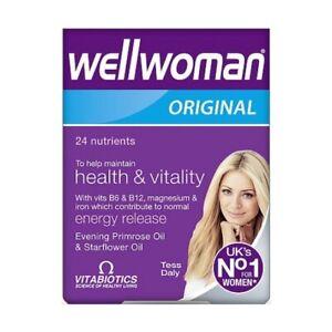 Vitabiotics Wellwoman Original Multi Vitamin Supplements 30 Tablets