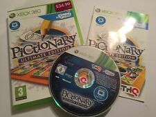 XBOX 360 uDraw Game a Pictionary U-DRAW ULTIMATE EDITION COMPLETO PAL