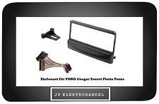 Einbaurahmen + ISO für FORD Cougar Escort Fiesta Focus Radioblende 1DIN  /R1