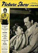 PICTURE SHOW- UK MOVIE MAGAZINE  -21 AUG 1954 - DEBBIE REYNOLDS- DICK POWELL