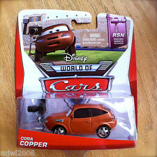 Disney World of Cars CORA COPPER 2014 RSN diecast 6/8 press photographer PIXAR