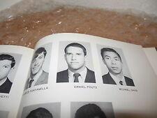 DAN FOUTS 1969 SAINT IGNATIUS HIGH YEARBOOK/SAN FRANCISCO, CALIF/HALL OF FAME