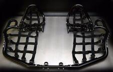 Houser racing Honda Trx450er Trx 450er 450r pro bounce nerf bars XC width Black