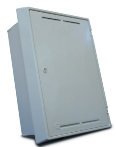 Tricel Gas Meter Box Recessed (595x409x210mm) G01024 (BS8499 compliant)