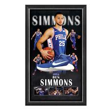 BEN SIMMONS HAND SIGNED BASKETBALL SHOE PHILADELPHIA 76ERS NBA LEBRON CURRY