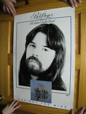 Bob Seger Poster And & The Silver Bullet Band Against The Wind Face Portrait