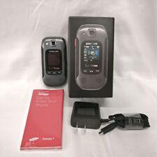 *USED* Samsung Convoy 3 SCH-U680 - Black & Grey (Verizon) Flip Cell Phone