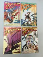 Blood Of The Innocent 1-4 Full Set Warp Graphics Comics Dracula 1986 (BI03)
