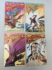 Blood Of The Innocent 1-4 Full Set Warp Graphics Comics Dracula 1986 (BI03)