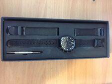 Triwa Sort Of Black Chrono Chronograph Watch Unisex One size
