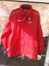 CHELTEHAM TOWN FOOTBALL CLUB ERREA BASIC RED LIGHT SHOWER JACKET SIZE S VGC