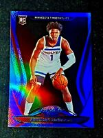 ANTHONY EDWARDS 2020-21 CERTIFIED MIRROR BLUE ROOKIE RC SP CENTERED GEM MINT 200