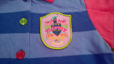Little Miss Matched Polo Shirt Size Small (Approx Age 6) NWT