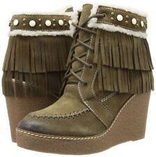 e8c2a3edc Sam Edelman Women s Kemper Boots Moss Green Suede NEW SZ 10