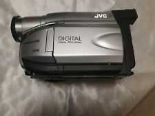 Jvc Compact Vhs Camcorder Model # Gr-axm17u with case and accessories