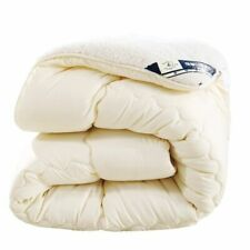 Warm Comforter/Duvet/Blanket Lamb Down Fabric Filling King Queen Cashmere Quilts