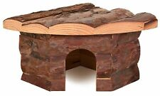 Natural Living Jesper Corner House for Hamsters Mice & Other Small Rodents