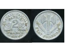 2 FRANCS BAZOR 1944 C   ( bis )