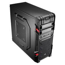Cajas AeroCool de acero de audio para ordenador