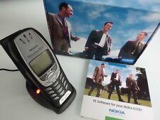 Nokia 6310i Silber mit ❗️TischLadestation❗️passt Autotelefon. MB VW BMW Audi