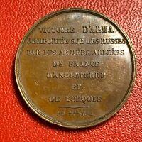 #5343 - Napoléon III Médaille Victoire D'Alma - FACTURE