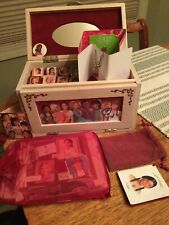 American Girl Collection Jewelry Box and Accessories- Portrait Pins + Bracelet!