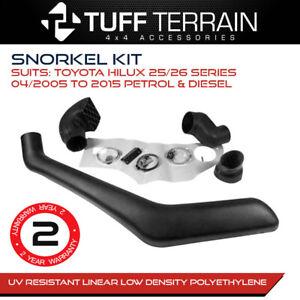 Tuff Terrain Snorkel Kit Fits Toyota Hilux 25/26 Series 2005-2015 Petrol Diesel