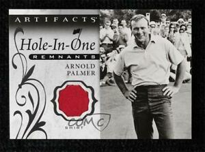 2021 Upper Deck Artifacts Hole-in-One Remnants SP Arnold Palmer Shirt #OR-AP