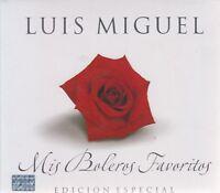 Luis Miguel CD + DVD Mis Boleros Favoritos Edicion Especial  - SHIPS NOW!
