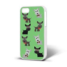 Nuevo Lindo Scotty Dog Escocés Terrier Westie único 02 Iphone teléfono caso Libre P&P.