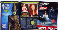UK THEATRE GUIDE BOOKLET - WICKED  WILLEMIJN VERKAIK LION KING HALF A SIXPENCE