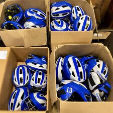 Lot of 40 Cascade LX Women's Lacrosse Headgear Helmets, Blue/Gray