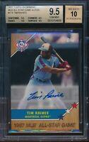 2017 Topps On Demand MLB All Star Game Tim Raines Auto BGS 9.5 Gem Autograph