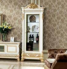 Display Case Wardrobe Glass Cabinets Living Room Look Design Baroque Rokoko E62