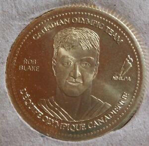 2002 Coca Cola Canadian Olympic Hockey Coins : Rob Blake