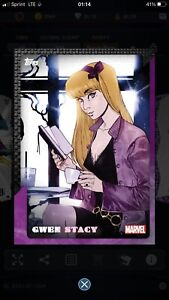 GWEN STACY - Alter Egos - Super Rare Digital Card - MARVEL COLLECT! By Topps